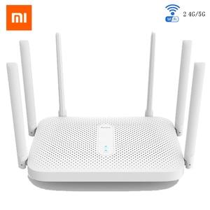 Original xiaomi redmi ac2100 2.4g 5.0 ghz 128 mb ram 2033 mbps roteador sem fio wifi repetidor trabalhar com mijia app