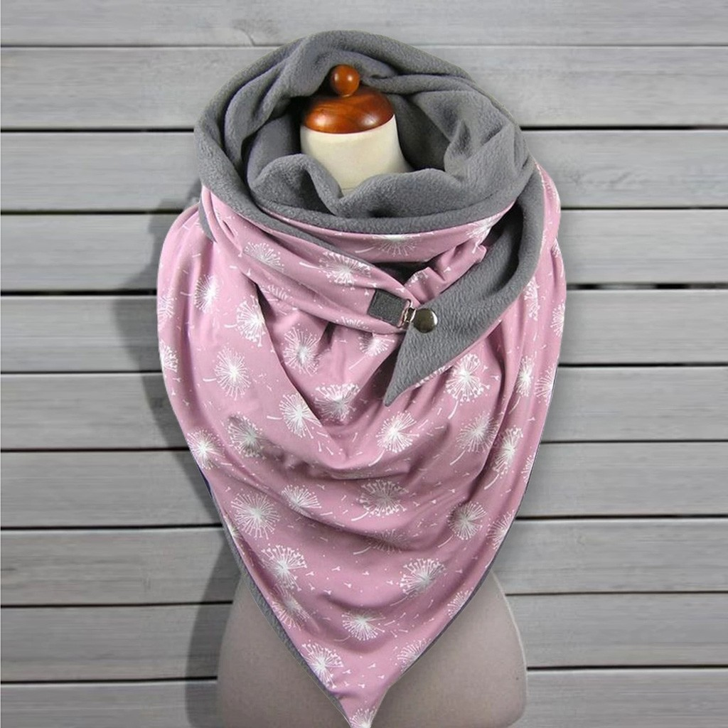 ALI shop ...  ... 4000529826738 ... 3 ... Fashion Women Soild Dot Printing Button Soft Wrap Casual Warm Scarves Shawls Soft Casual 2020 dropshipping шарфов#G1 ...