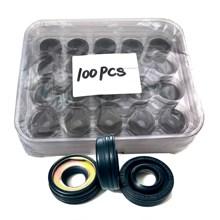 100pcs,Compressor Oil Seal For Nippon Denso 7sbu16 R134a,Compressor,Oil Seal R134A Compressor Stamp