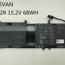 ONEVAN 15.2V 68wh Laptop Battery For ALIENWARE 17 R4 15 R3 Tablet