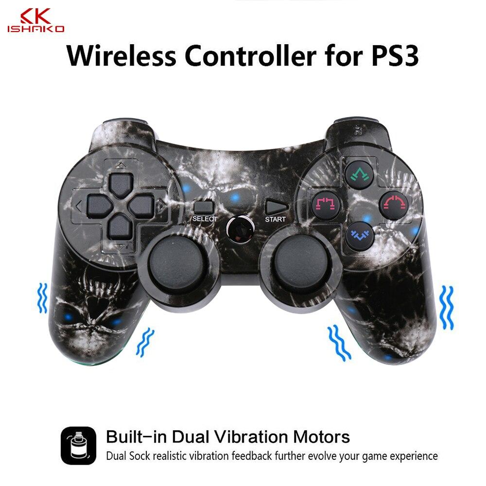 10 pçs/caixa para ps2 controlador sem fio pc gamepad para playstation3 controlador dmx joystick & game controlador mini usb com fio gamepad