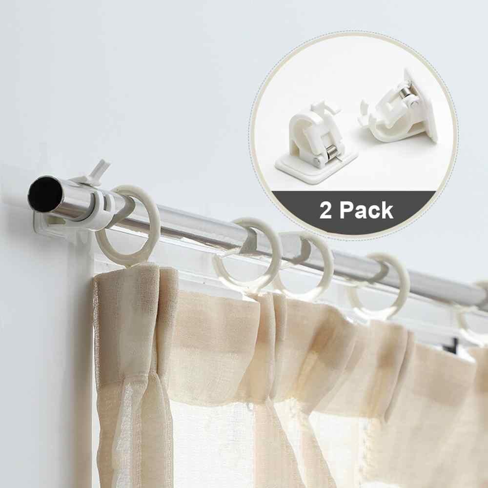 2pcs self adhesive hooks wall mounted