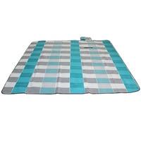 200X200Cm Wasserdichte Faltbare Outdoor Camping Sleeping Matte Erweitern Picknick Matte Plaid Strand Decke Baby Multiplayer Tourist Matte-in Isomatte aus Sport und Unterhaltung bei