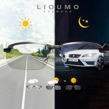 Солнечные очки lioumo поляризационные для мужчин и женщин фотохромные
