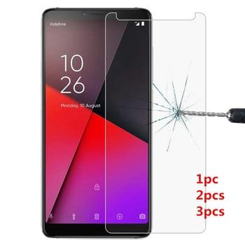 Перейти на Алиэкспресс и купить 2.5D с уровнем твердости 9H закаленное Стекло для Vodafone Smart X9 E8 N9 Lite V10 N10