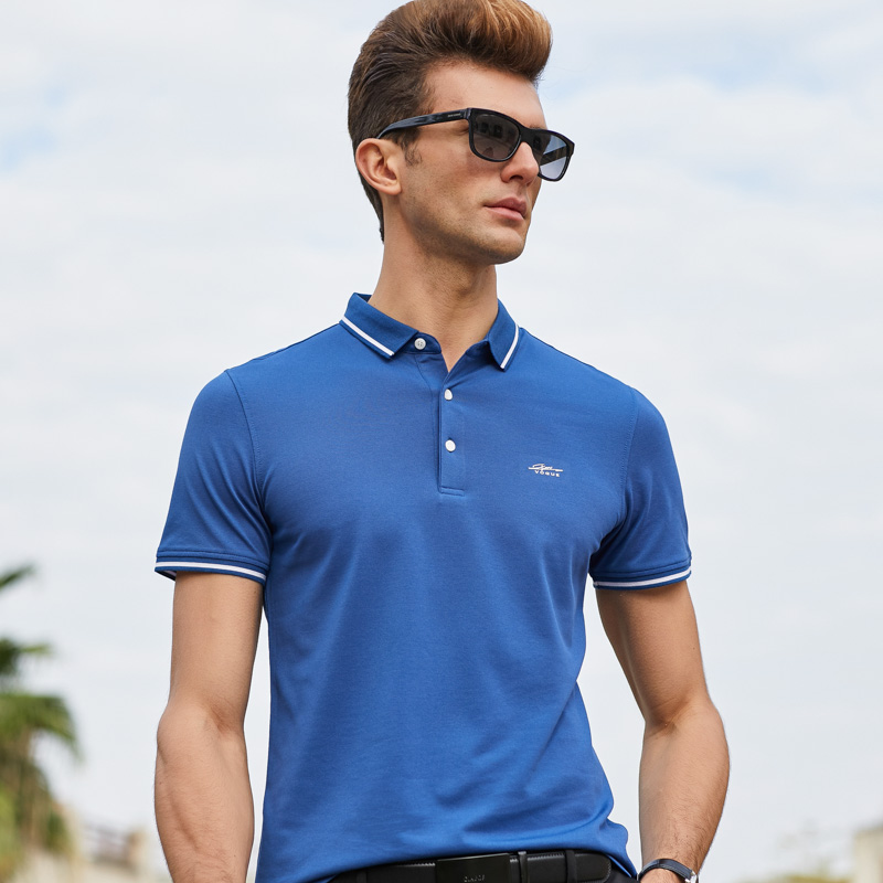 Casual Short Sleeve Polo Shirt Uncategorized