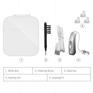 Image 5 - E37 akumulatorowy aparat słuchowy cyfrowy wzmacniacz Auidphones do głębokich głuchych aparatów słuchowych Dropshipping