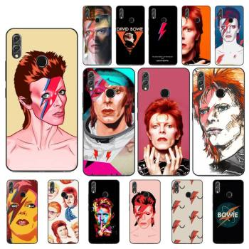 FHNBLJ David Bowie Custom Soft Phone Case For Huawei Honor 8X 8A 9 10 20 Lite 30Pro 7C 7A 10i 20i image