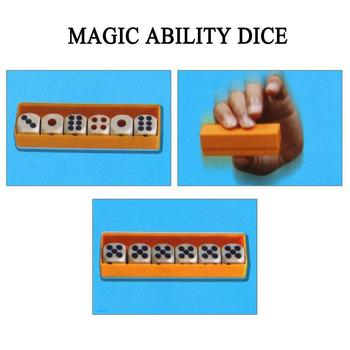 Prediction Dices (Normal Dice and Online instruction) Close Flash Six Toy Die Tricks Prop For Kids Up Change Magia T0E8 image