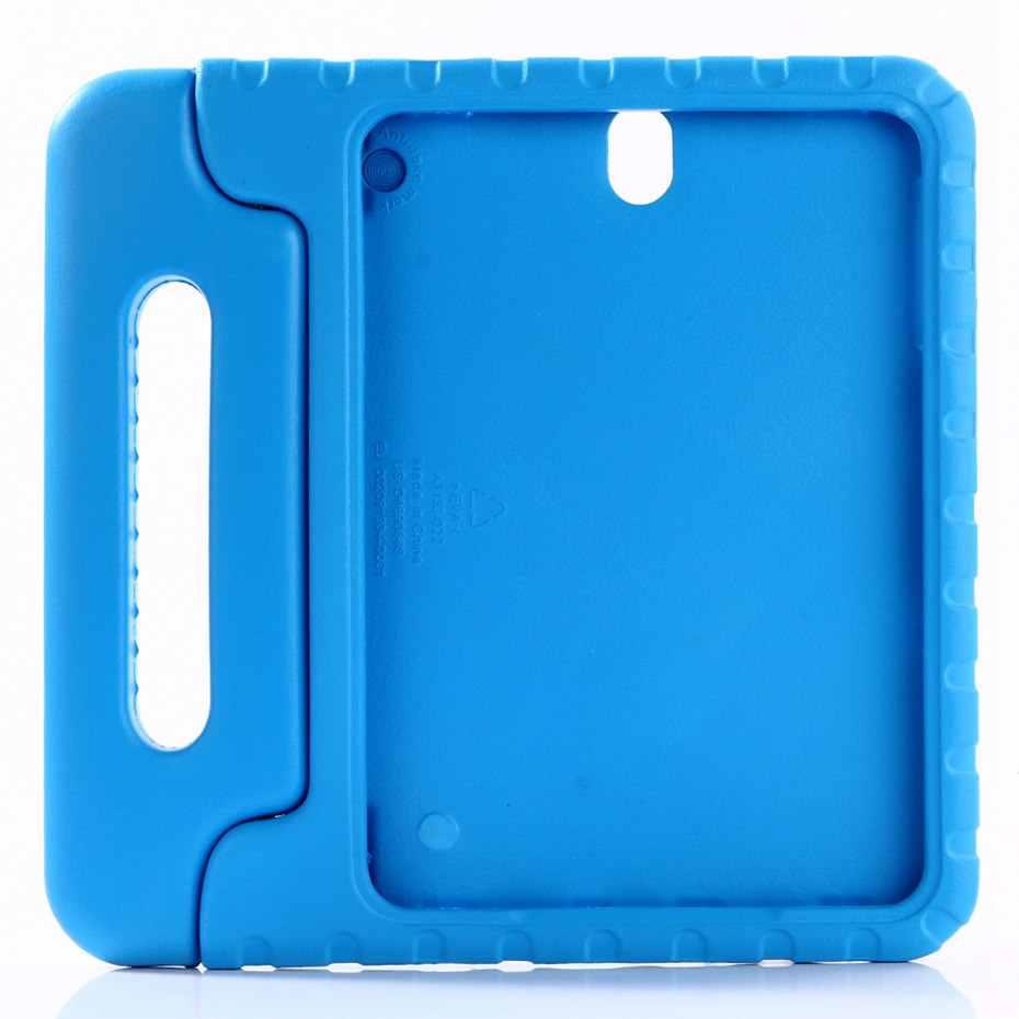 Pokrowiec na Samsung Galaxy Tab S3 9.7 cala T820 T825 ręczny nietoksyczny odporny na wstrząsy EVA pokrowiec na całe ciało uchwyt stojak Case dla dzieci