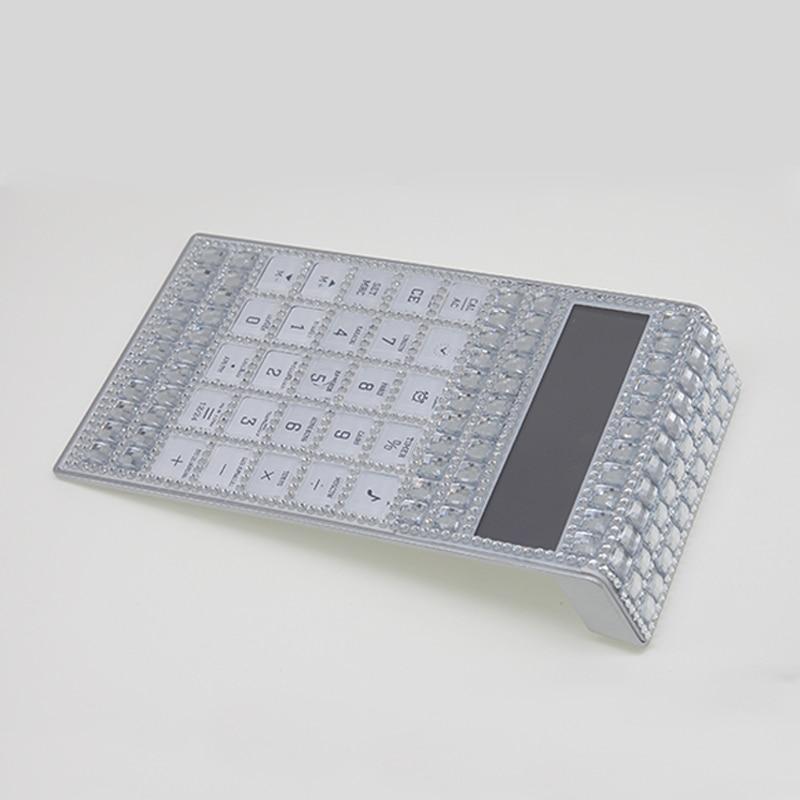 O novo conjunto de diamante calculadora estudante presentes multi-função água diamante calculadora fina calendário presentes de diamante de alta qualidade