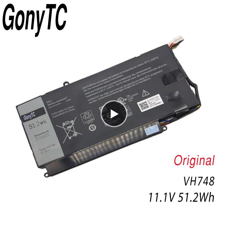 VH748 Original bateria Do Portátil Para DELL Vostro 5460 5470 5560 14 14 5480 para Inspiron 5439 V5460D-1308 V5460D-1318 5470D-1328