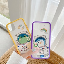For iPhone 11Pro Max 8 8Plus X 7 7Plus case the astronauts case spaceman cover couple case чехол айфон 7 زب صناعي كبير foriphone