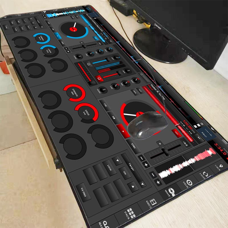 Mairuige DJ Hand Drive Speed Pad To Mouse Notbook Computer Mousepad High-end Gaming Mouse Pad Gamer To Popular Laptop Mouse Mat
