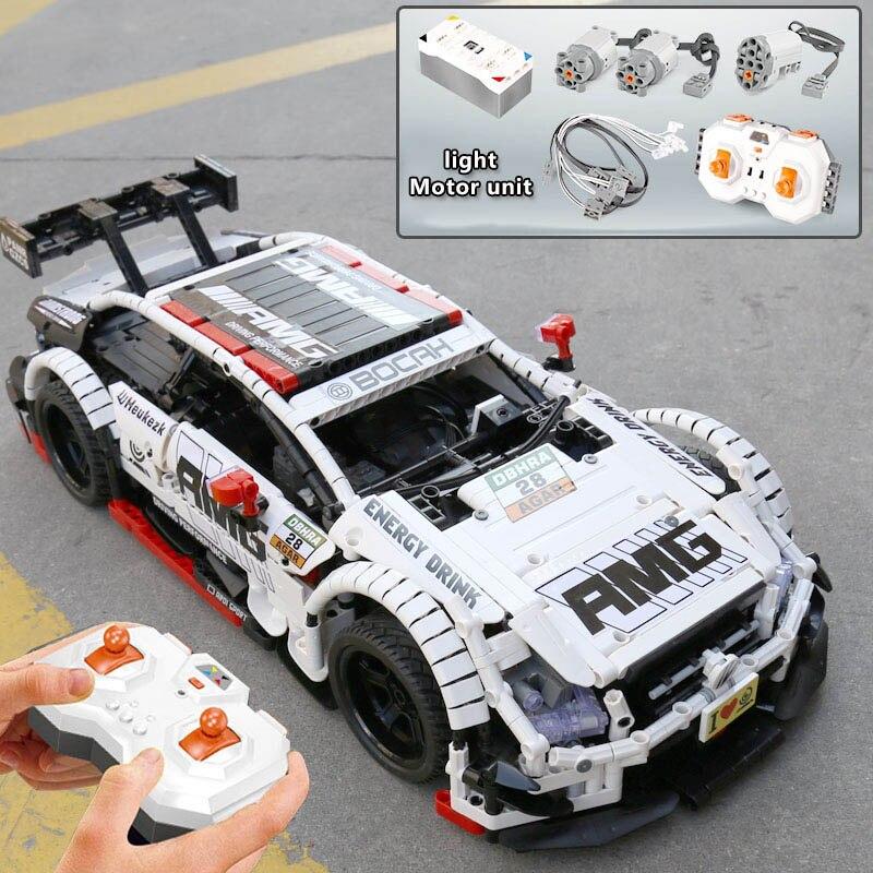 Image 3 - Pilot Benzs zestaw samochodowy kompatybilny Lepinblocks Technic MOC 6687 RC samochodowe klocki budowlane zabawki dla dzieci prezentyKlocki   -