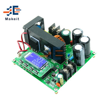 BST900W DC-DC Boost Converter LCD Display Step Up Power Supply Module 8-60V to 10-120V Voltage Transformer Module Regulator 600w dc dc booster module solar notebook power supply 10 60v 12 80v high power
