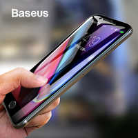 Baseus 5D Screen Protector For iPhone 7 8 Tempered Glass Full Screen Anti Blue Light Front Glass For iPhone 7 Plus 8 Plus Glass