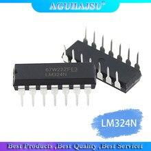 10PCS LM324N DIP-14 324 LM324 증폭기 LM324P