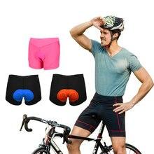 Новое черное удобное нижнее белье для велоспорта, гелевые шорты с 3D подкладкой для велосипеда, шорты для велоспорта, одежда для верховой езды