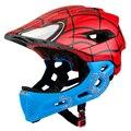 KINGBIKE Детский велосипедный шлем детский Полнолицевой mtb велосипедный скейт скейтборд шлем спортивный горный шоссейный велосипед новый casco ...