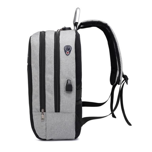 "OUBDAR Men Multifunction Anti Theft Backpack 15.6"" Inch Laptop Usb Charging Backpacks Waterproof Schoolbag Business Travel Bags 5"