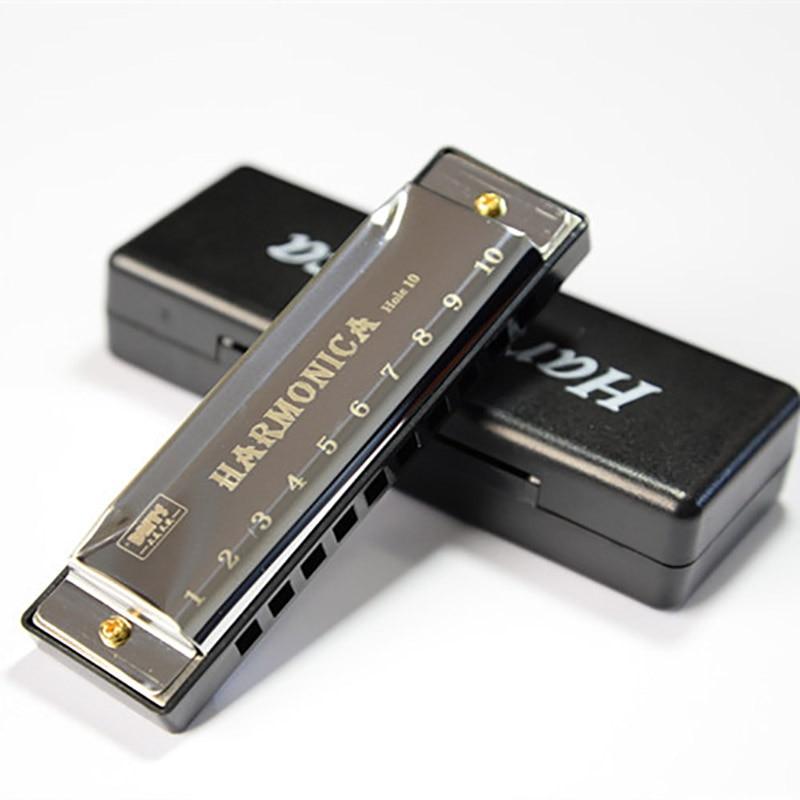 Harmonika 10 delikli arfa 20 C ton diatonik arfa açarı C blues caz - Musiqi alətləri