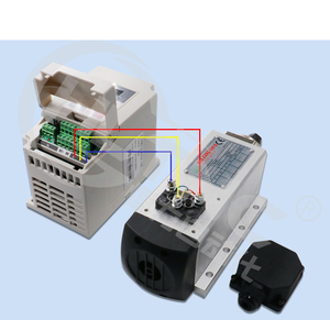 Image 4 - Livraison gratuite 1.5kw refroidi par air CNC moteur de broche + 110V/220V /380v HY onduleur + 1 ensemble ER11 pince pour CNC