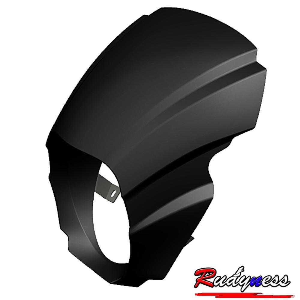 Глянцевый черный чехол для фар FARING для HARLEY SOFTAIL 2018-2020 модели FXBR FXBRS