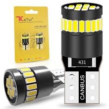 2x Canbus T10 W5W 168 194 LED التخليص مصابيح العلامات الجانبية لمرسيدس بنز W211 W221 W220 W163 W164 W203 C E SLK GLK CLS M GL