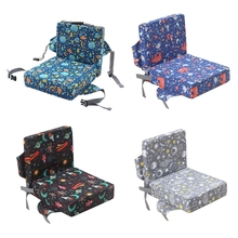 Cushion Booster High-Chair Dining Cartoon Mat Increased-Pad Removable Anti-Skid Printing