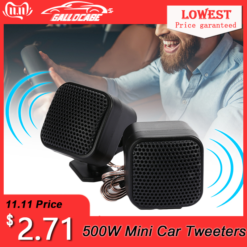 500W <font><b>Audio</b></font> <font><b>Speaker</b></font> Loudspeaker <font><b>Car</b></font> Tweeters Super Power High Efficiency CD MP5 MP3 For IPod Fit For All <font><b>Car</b></font> <font><b>Audio</b></font> Systems image