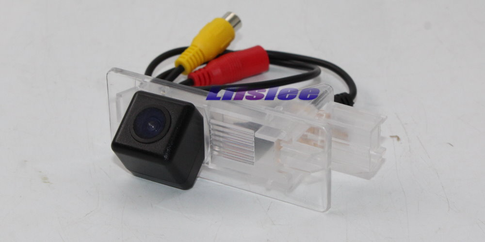 Liislee Car Reverse Camera For Captur 2013~2018 Connect Original Factory Screen Monitor Compatible RCA Adapter Connector 3
