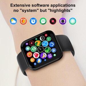 Image 3 - Ip68 à prova dip68 água relógio inteligente kospet magia 3 2021 homens smartwatch toque completo rastreador de fitness masculino relógio de pulso para ios android