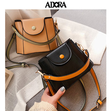 Bucket Bag Fashion Messenger Leather Handbag Crossbody for Female Designer Famous Brand Women 2019