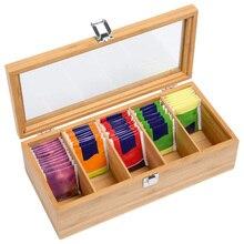 Экологичный чехол, портативная Крышка для чайной канистры, ручная работа, Бамбуковая натуральная коробка для хранения, Бамбуковая коробка для хранения чая, натуральная практичная