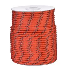 5MM Diameter 20/30/50m Reflective String Windproof Tent Rope Guy Line For Camping Tent Camping Rope Reflective Guy Ropes For Ten acecamp 9083 5mm glow in the dark camping tent rope yellow white 30m
