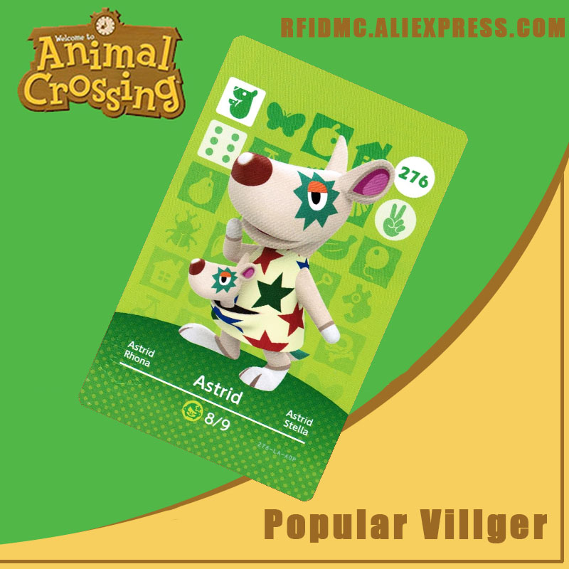 276 Astrid Animal Crossing Card Amiibo For New Horizons
