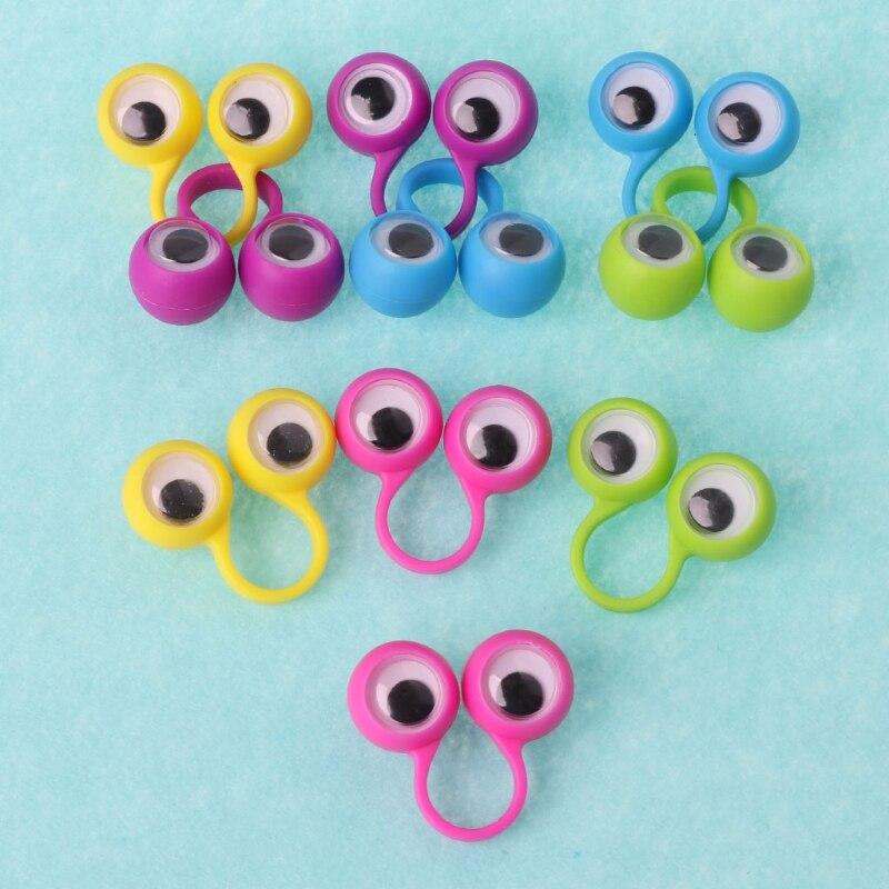10 шт., кольца на глаза для детей