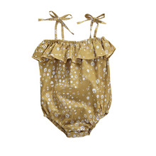 Emmababy Baby Girls Floral Bodysuit 0-24M Newborn Infant Tod