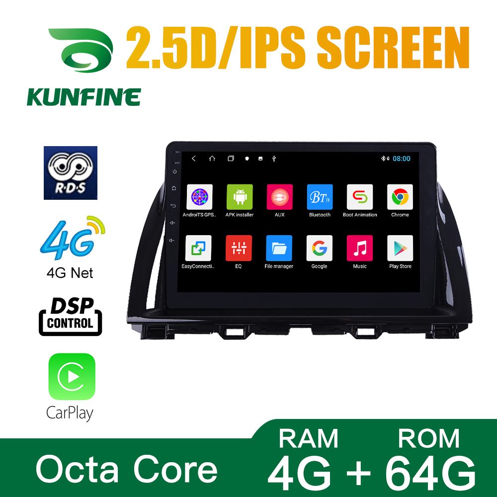 Octa Core 1024*600 Android 8.1 Car DVD GPS <font><b>Navigation</b></font> Player Deckless Car Stereo For <font><b>Mazda</b></font> <font><b>CX5</b></font> 2015-2017 Radio Headunit wifi image