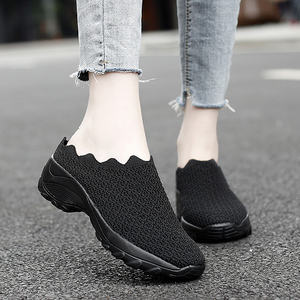 Women Casual Shoes Fashion Breathable Walk Mesh Flat Shoes Lady Sneakers Women Tenis Feminino Shoes Lady 2020 Mesh Summer Shoes