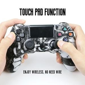Image 2 - Беспроводной геймпад для PS4, контроллер для электронной сигареты PS4, джойстик с Bluetooth
