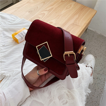 Fashion Chic Lock Square Women Shoulder Bags Designer Mesenger Bag Luxury Matte Leather Crossbody Bags Ladies Small Flap Purses