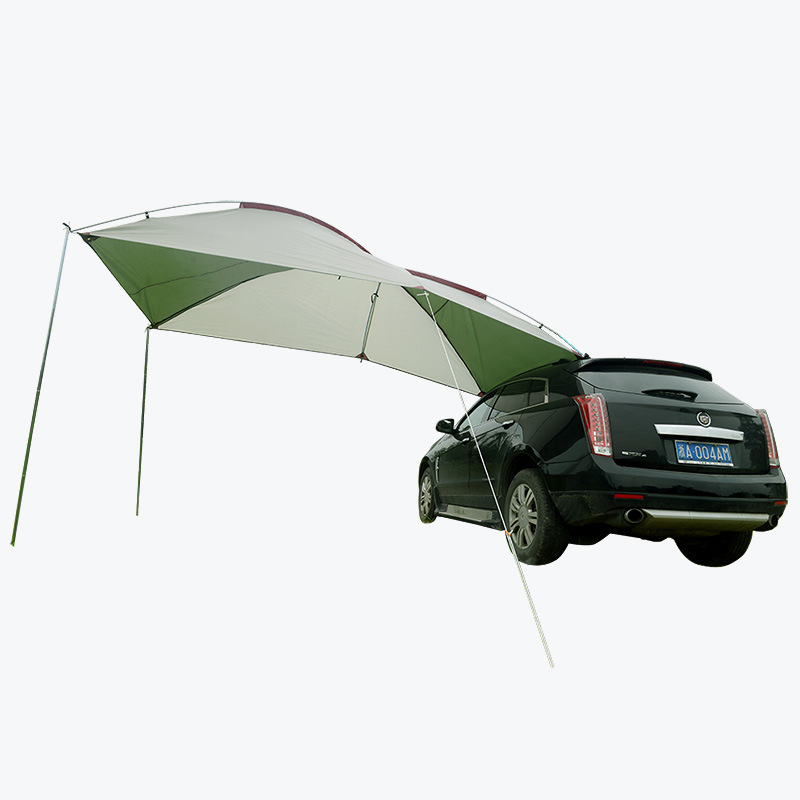 Outdoor Camping Portable Car Side Roof Top Self-Driving Travel Equipment Rainstorm SUV Car Sunshade Tent