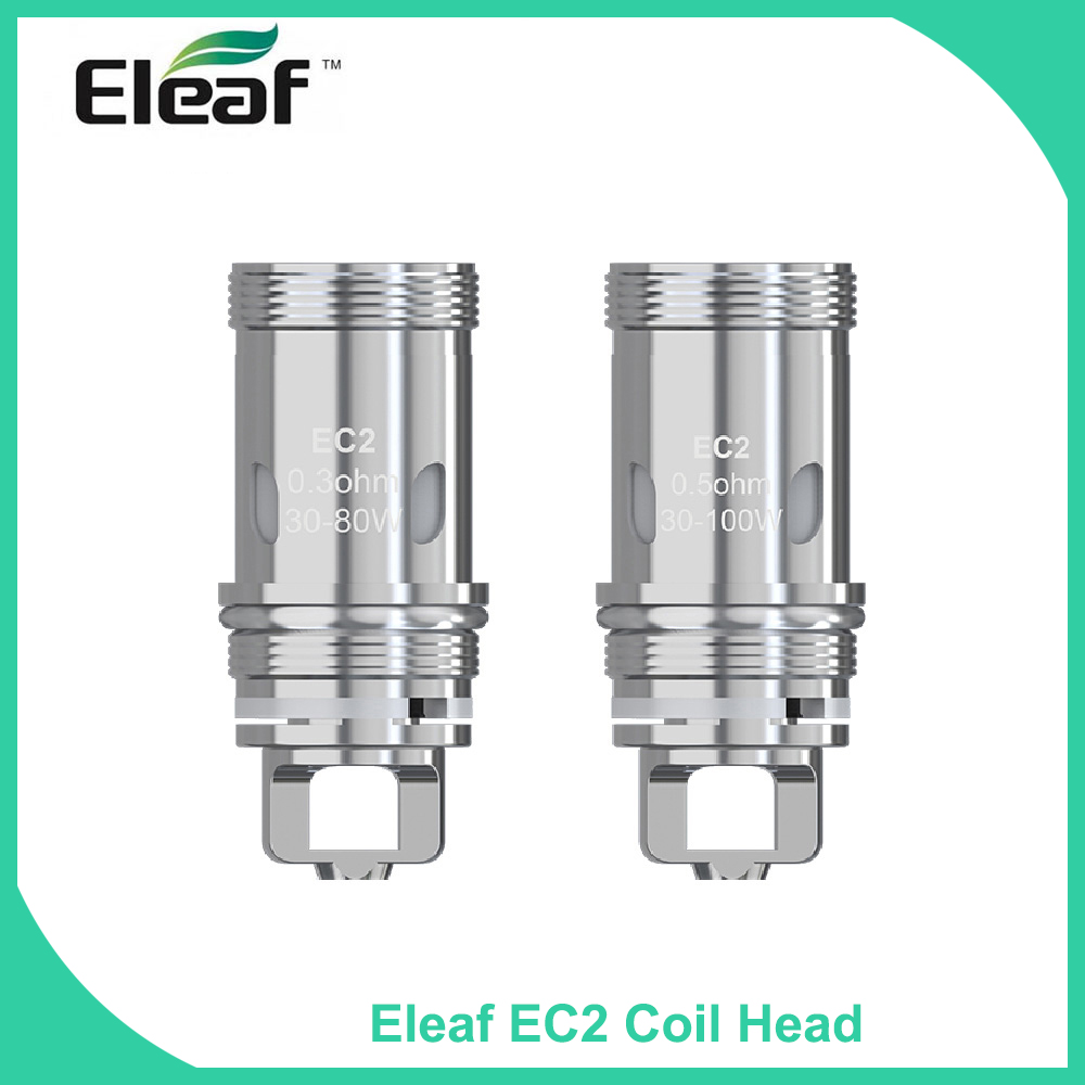 5PCS/10PCS/lot Original Eleaf <font><b>EC2</b></font> Coil Head 0.3ohm/<font><b>0.5ohm</b></font> Replacement Coil for i200/i80/melo kit E Cigarette vape coil image