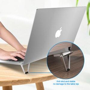 Image 2 - ขาตั้งแล็ปท็อปโลหะน้ำหนักเบาสนับสนุนโน้ตบุ๊คแล็ปท็อปผู้ถือ Cooling Bracket สำหรับ MacBook Pro Air DELL HP