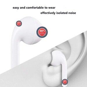 Image 4 - Тип C наушники с микрофоном проводные USB C Цифровые наушники DAC In Ear USB C гарнитуры для Pixel 2 3 XL Samsung Huawei Xiaomi HTC