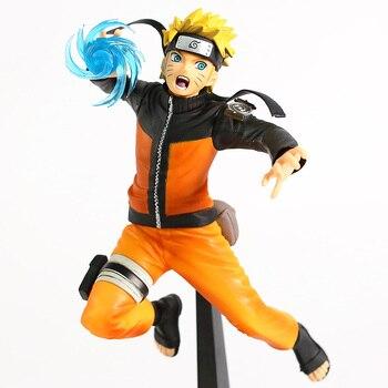 Figura de Naruto Uzumaki lanzando un Rasengan de Naruto Shippuden (23cm) Figuras de Naruto Merchandising de Naruto