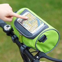 Передняя велосипедная сумка мобильный телефон для велосипеда