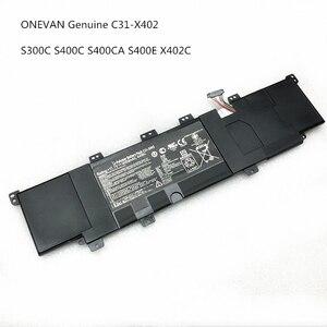 Новые оригинальные C31-X402 Аккумулятор для ноутбука Asus VivoBook S300 S400 S400C S400CA S400E 1 заказ